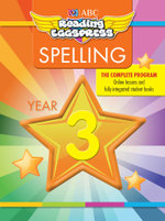 ABC Reading Eggs Eggpress Spelling Workbook : Year 3 - ABC Reading Eggs