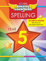 ABC Reading Eggs Eggpress Spelling Workbook : Year 5 - ABC Reading Eggs