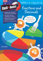 Fractions and Decimals : Back to Basics : Years 5 - 6 - Ann Baker