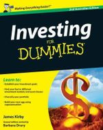 Investing For Dummies 2nd Aus Edition :  Australian Edition - Barbara Drury