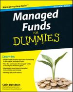 Managed Funds For Dummies  : Australian Edition - Colin Davidson