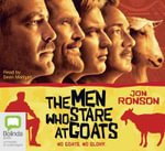 The men who stare at goats (film tie-in) CD - Jon Ronson