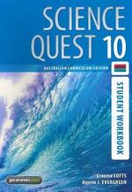 Science Quest 10 Australian Curriculum Edition Student Workbook : Science Quest Series : Book 54 - Graeme Lofts