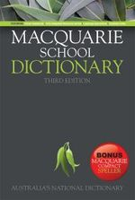 Macquarie School Dictionary with Bonus Speller - Macquarie