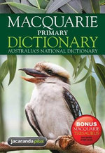 Macquarie Primary Dictionary + Bonus Primary Thesaurus - Macquarie