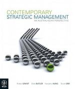 Contemporary Strategic Management  an Australasian Perspective + Journal Card + Sustainability Supplement - Robert M. Grant