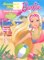 Barbie : Summer Fun Dress Up Doll Kit :  Order Now For Your Chance to Win!* - Five Mile Press