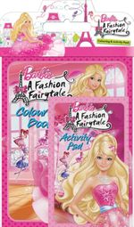 Barbie : A Fashion Fairytale : Colouring & Activity Pack - The Five Mile Press