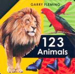 123 Animals : A Fold-Out Book - Garry Fleming