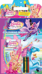 Barbie: A Fairy Secret* : Colouring and Activity Pack - The Five Mile Press