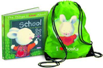 Things I Love About School with Library Bag : With colourful library bag - Trace Moroney