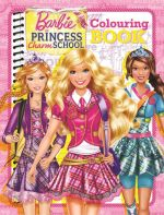 Barbie's Princess Charm School Colouring Book - Five Mile Press Staff