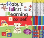 Baby's First Learning Box Set : 8 x Early Learning Concept Board Books in a Boxed Set - David Crossley