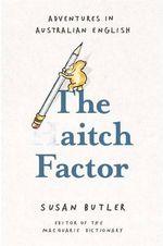 The Aitch Factor - Susan Butler