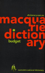 Macquarie Budget Dictionary - Dictionary Macquarie