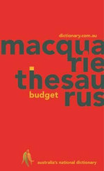Macquarie Budget Thesaurus - Dictionary Macquarie