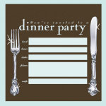 You're Invited - Dinner Party - Stationery