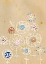Buttons A5 Journal - Michelle Mackintosh