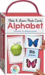 Slide and Learn Flashcards Alphabet : Building Blocks