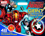 The Mighty Avengers - Giant Activity Carry Pad : Giant Activity Carry Pad - Marvel Comics Staff