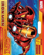 The Invincible Iron Man Giant Activity Pad