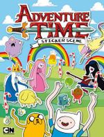 Adventure Time : Sticker Scene Book - Adventure Time