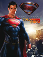 Superman : Man of Steel Colouring Book - DC Man of Steel