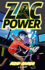 Mind Games : Zac Power Series - H. I. Larry