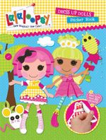 Lalaloopsy Dress Up Dolls Sticker Book - Lalaloopsy