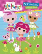 Lalaloopsy Sew Amazing Colouring Book - Lalaloopsy