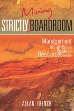 Strictly (Mining) Boardroom - Allan Trench
