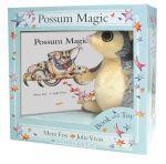 Possum Magic Plush Box Set with Fluffy Possum Toy - Mem Fox
