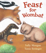 Feast for Wombat - Sally Morgan