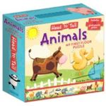 Head ToTail My First Floor Puzzle : Animals - Anna Jones