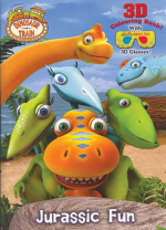 Dinosaur Train : Jurassic Fun 3D Colouring Book : with 3D Glasses - The Five Mile Press