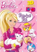 Barbie Purr-fect Pets : Colouring Book with 3D Glasses - The Five Mile Press