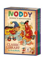 Noddy Classic Library : Contains Four Noddy's Adventures - Enid Blyton