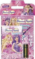 Barbie: The Princess & the Popstar* : Colouring and Activity Pack - The Five Mile Press