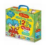 Dr Seuss Head to Tail 123's Floor Puzzle - Five Mile Press