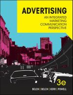 Advertising : An Integrated Marketing Communication Perspective - George Belch