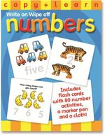 Copy & Learn Numbers : Write on Wipe off