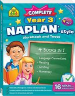 School Zone Naplan-Style Workbook : Year 3 Bind Up - Louise Park