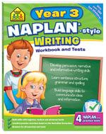 School Zone: Naplan-Style Writing : Year 3 Workbook And Tests - Louise Park