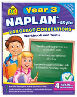 Naplan-Style Language Conventions : Year 3 Workbook And Tests - Louise Park