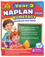 School Zone Naplan-Style Workbook : Year 3 Numeracy - Louise Park