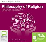 Philosophy of Religion (MP3) : Beginner Guides - Charles Taliaferro