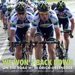 We Won't Back Down : On the Road with Orica-Greenedge - Rupert Guinness