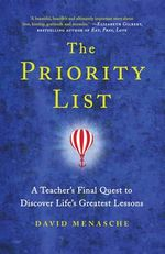 The Priority List - David Menasche