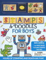 Stamps And Doodles For Boys - Anna Ildiko Popescu