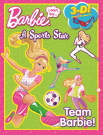 Barbie : I Can Be...A Sports Star : 3D - with 3D Glasses! - The Five Mile Press